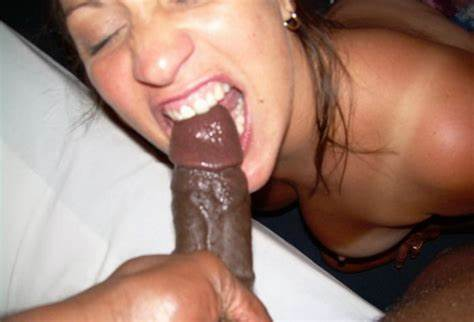 Cuffed Meat In Wifes Tongue Photo Hungry Negress Nympho Biting Coloured Bbc To Taste The Cock