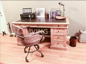 Chaise De Bureau Vintage : chaise de bureau vintage en cuir marron en ligne living boutique en ligne ~ Teatrodelosmanantiales.com Idées de Décoration