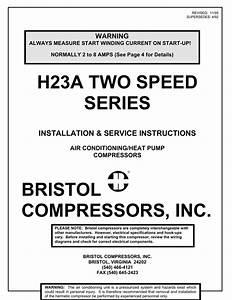 Bristol 2 Speed Compressors