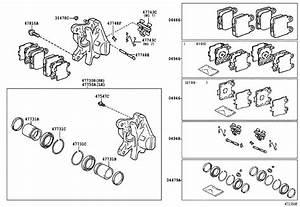 Lexus Sc 430 Cylinder Assembly  Disc Brake  Rear Left