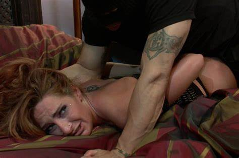 Lezdom Domina Spanking With Penis