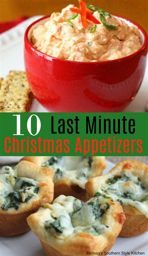 67 holiday appetizers to start christmas dinner off with a bang. 10 Easy Last Minute Christmas Appetizers | Christmas ...
