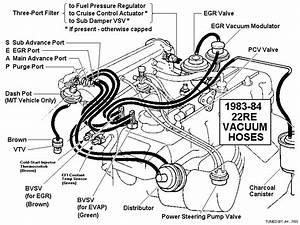 95 4runner Vacuum Diagram For Power Stering Pump
