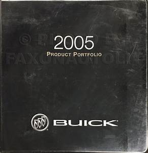 2005 Buick Lesabre Repair Shop Manual Original 2 Volume Set