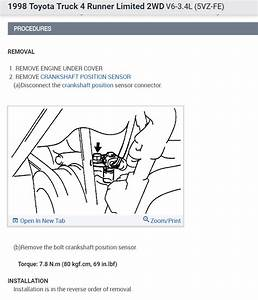 Crankshaft Position Sensor  Where Is Crank Sensor Located