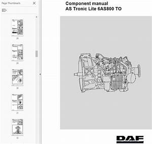 Daf Components Manuals As Tronic Series Pdf