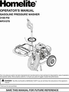 How To Drain Gas From Homelite Pressure Washer
