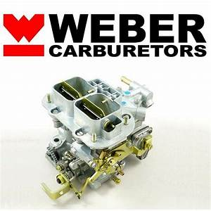 32  36 Dgv Progressive Carb Genuine Weber Carburetor W