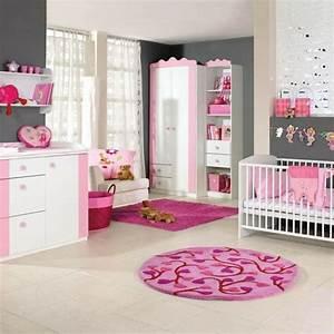 Deco Chambre Bebe Fille : la peinture chambre b b 70 id es sympas ~ Teatrodelosmanantiales.com Idées de Décoration