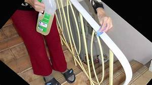 Handlauf Kunststoff Selbstmontage : der handlauf ist montiert womit kann man arbeitsspuren ~ Watch28wear.com Haus und Dekorationen