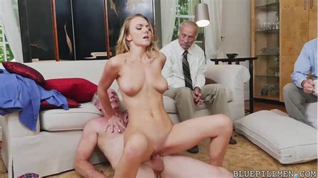 #Blue #Pill #Men #Old #Man #Fucks #Blonde #Young #Woman #While