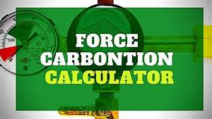 Force Carbonating Chart Force Carbonation Calculator And Pdf Chart Drinking