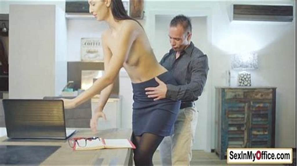 #Secretary #Kitty #Jane #Fucks #Her #Boss #In #Home #Office
