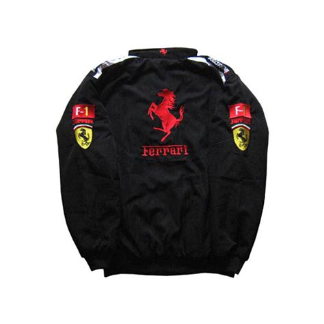 They're so not true to in part because of my friends' observations, in part because 90% of the racing action comes in the final third of the movie and in part because of the. Ferrari-F1-Jacket-Black-and-Red-Trim - nascarracingappeal