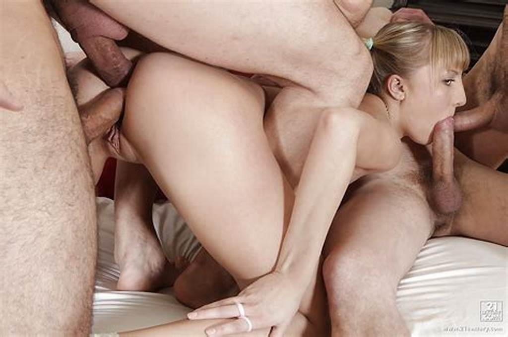#Creampie #Of #Naughty #Shaved #Girl #After #Group #Sex #And #Double