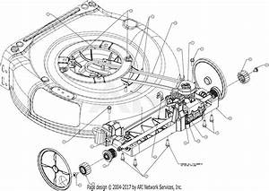 Troy Bilt 12avb2a3711 Tb 230  2017  Parts Diagram For Transmission