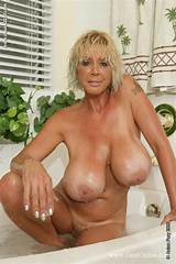 Big tit mature blonde