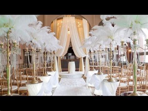 Great Gatsby Wedding Reception YouTube