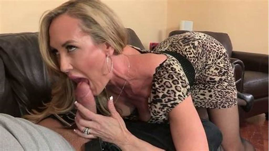 #Stunning #Cougar #Brandi #Love #Gives #Hot #Blowjob #To #Her #Lover