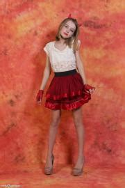 Be anything you want to be. Silver-Jewels Evy - Red Skirt 1