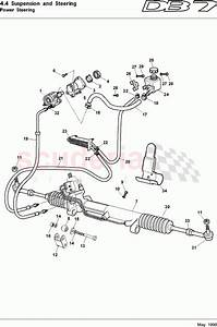 Aston Martin Db7  1997  Power Steering Parts