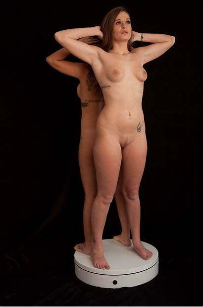360 Degree Slave Naked Auction Entrancement Animated