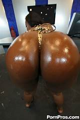 Big black butt nude