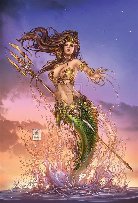 Little Mermaid #5 by Kromespawn deviantart com on