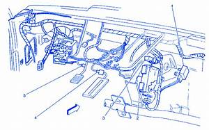 Gmc Yukon Denali 1998 Left Side Electrical Circuit Wiring