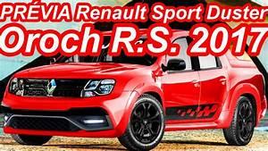 Pr U00c9via Renault Sport Duster Oroch R S  2017