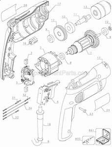 Dewalt D21009 Parts List And Diagram