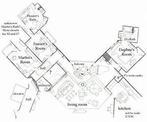 Frasier, U0026, 39, S, Apartment, Layout