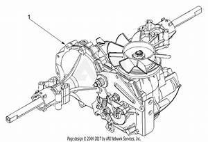Mtd 13af693g118  2002  Parts Diagram For Transmission Complete