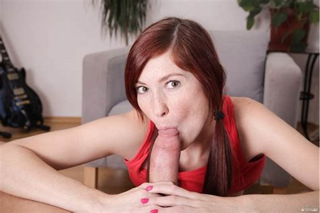 #Hot #Redhead #Katie #Gold #Gives #Pov #Dick #Sucking