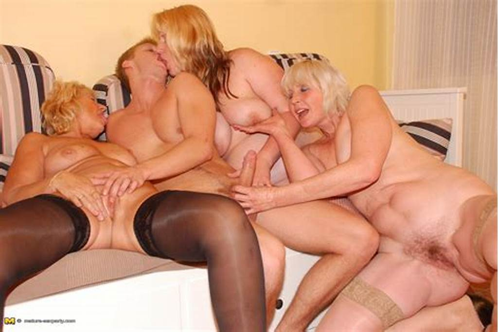 #Three #Horny #Older #Ladies #And #One #Strapping #Partyboy