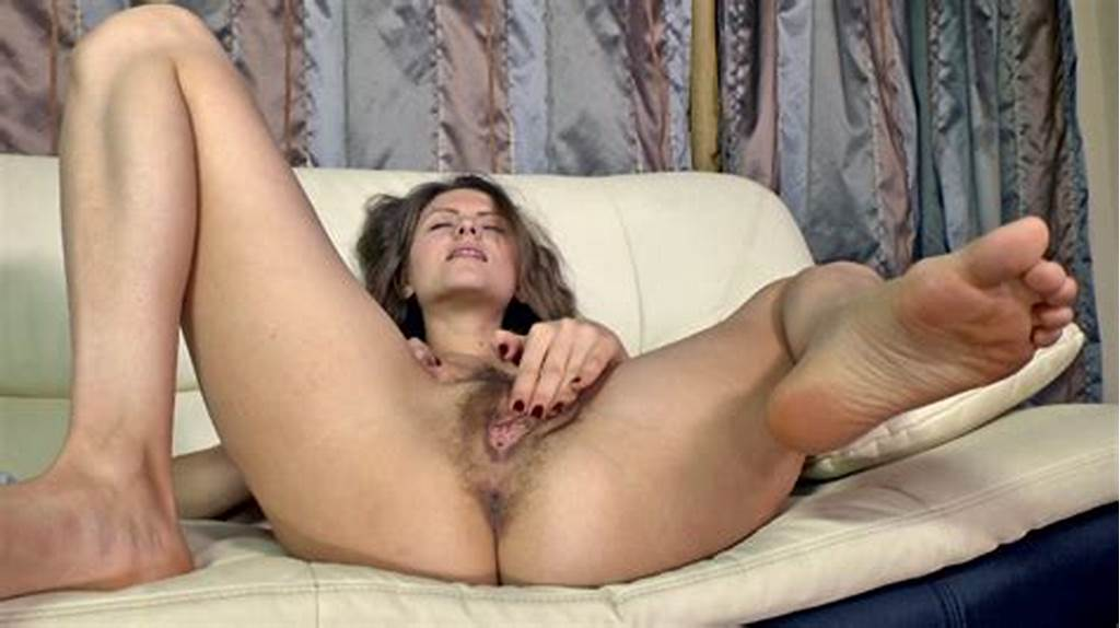 #Elena #May #Touches #Her #Very #Hairy #Pussy