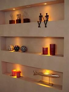 1001 idees comment decorer vos interieurs avec une niche With idee deco cuisine avec objet deco chrome