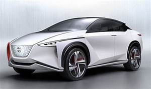 New Nissan IMx electric car concept to rival Tesla Model X