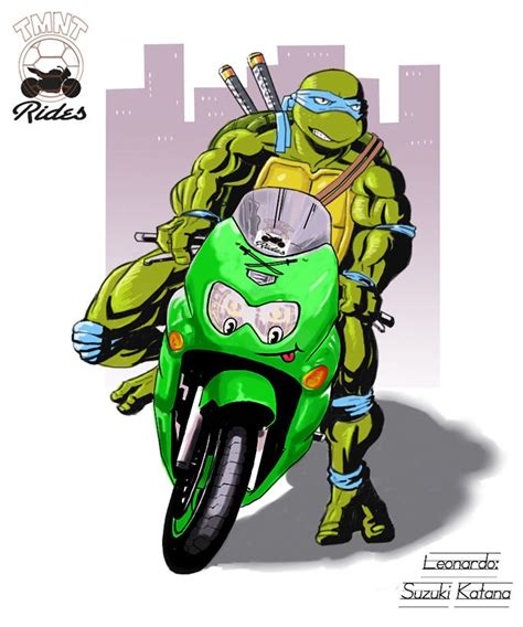 T M N T Rides 1: Leonardo by Grafight on DeviantArt