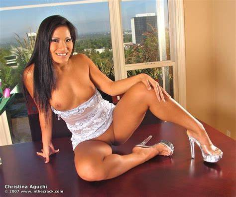 Playing Legs Chicks Lace Christina Aguchi At In The Stuffed