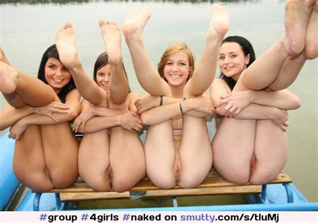 #Group ##4Girls ##Naked ##Pussy ##Shaved ##Outside ##Lake ##