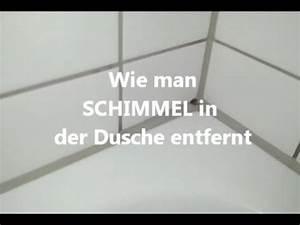 Schimmel Entfernen Bad : schimmel aus der dusche entfernen youtube ~ Watch28wear.com Haus und Dekorationen