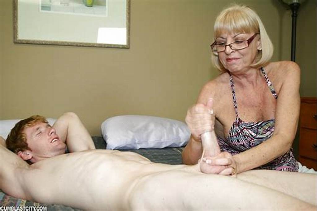 #Slutty #Granny #In #Glases #Jerking #Off #A #Dicks #And #Getting #A
