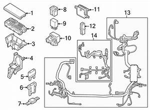 Lincoln Mkx Engine Wiring Harness  Engine Compartment  W