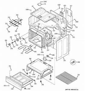 Ge Jbp35dm1ww Electric Range Parts