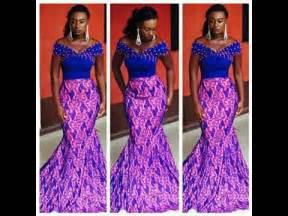 robes africaine de soiree chic youtube With modele de robe de soirée