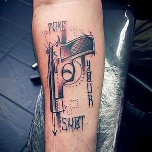 Gun Tattoos And Designs