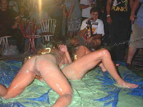 Catfight Girl In The Mud