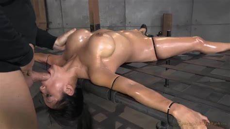 Bdsm Bondage Big Butt Throating