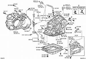 2001 Toyota Rav4 Protector  Automatic Transmission Case